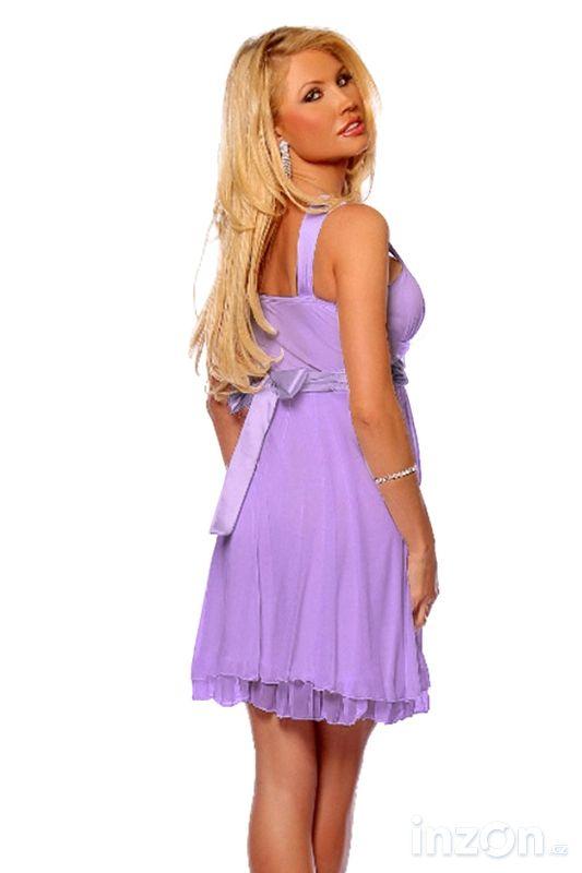 e7b4ca49193 Krátké společenské koktejlové šaty Angela ve velikostech S až XL ...